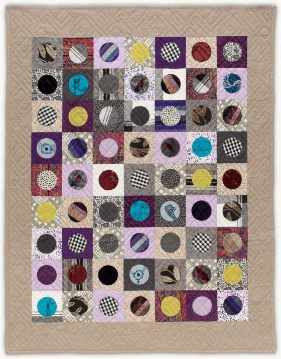 'Barbara's Penny', a memorial quilt designed by Lori Mason