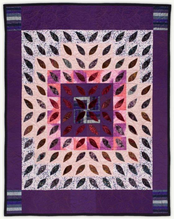 'Barbara's Starburst', a memorial quilt designed by Lori Mason