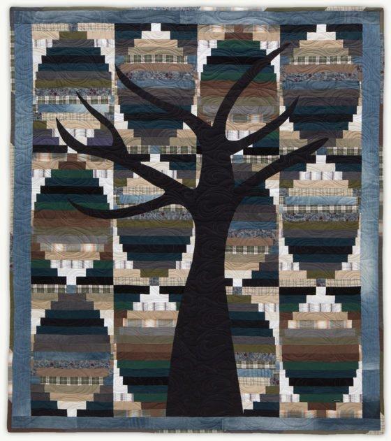 'John'sTree', a memorial quilt designed by Lori Mason