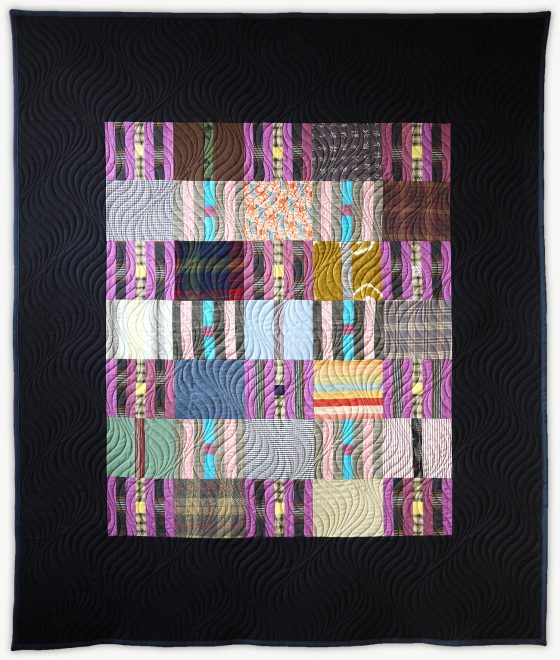 'Toby's Graduation', a special event quilt designed by Lori Mason