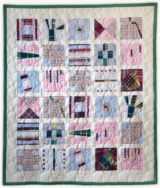 'Grandma Mia', a memorial quilt designed by Lori Mason