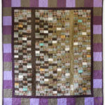 'Two Pines', a memorial quilt designed by Lori Mason