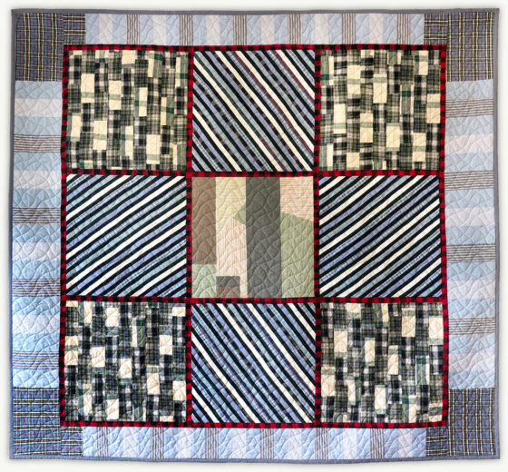 'Bob's Projects', a memorial quilt designed by Lori Mason