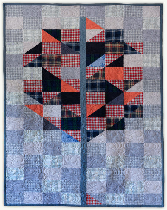 'Rich's-Tree-2', a memorial quilt designed by Lori Mason