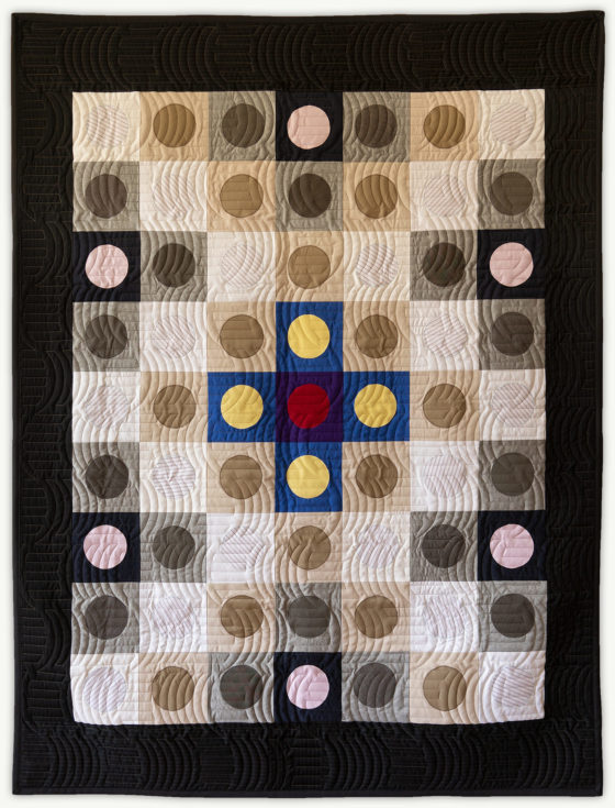 'Justin's-Penny-2', a memorial quilt designed by Lori Mason