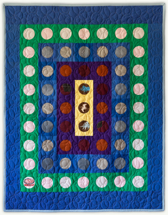 'Justin's-Penny-3', a memorial quilt designed by Lori Mason