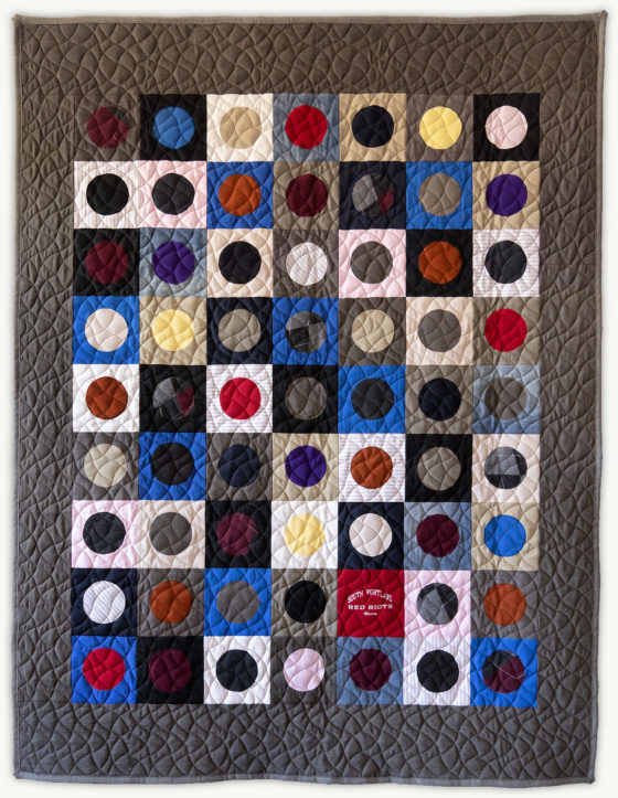 'Justin's-Penny-4', a memorial quilt designed by Lori Mason