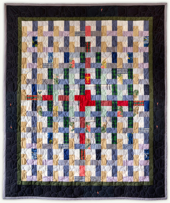 'Ethan's Puzzle', a memorial quilt designed by Lori Mason