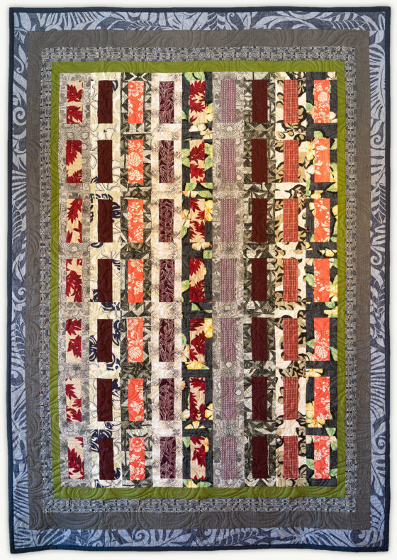 'Aurelio's Chimes', a memorial quilt designed by Lori Mason