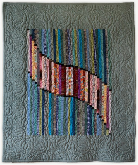 'Isadora's Graduation', a special event quilt designed by Lori Mason