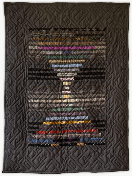 'Nate's Graduation', a special event quilt designed by Lori Mason
