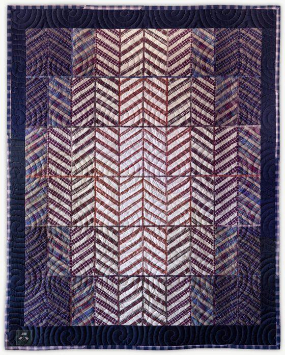 'Joe's Good Will 2', a memorial quilt designed by Lori Mason
